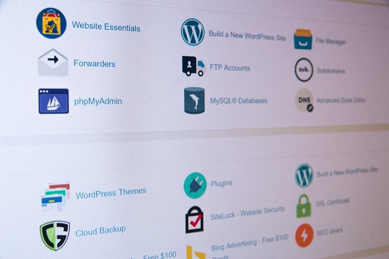 cPanel jza upravljanje sa web hostinzima